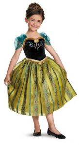Princess Anna Gown - www.kidslovedressup.com