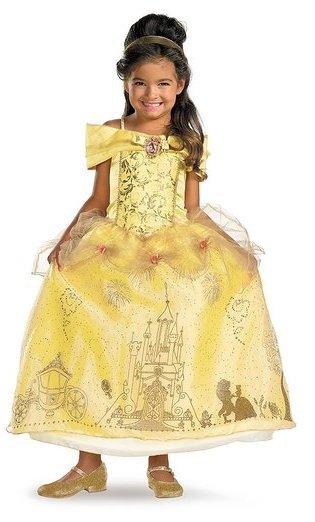 Princess Belle Gown - www.kidslovedressup.com