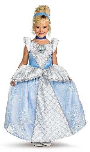 Princess Cinderella Gown www.kidslovedressup.com