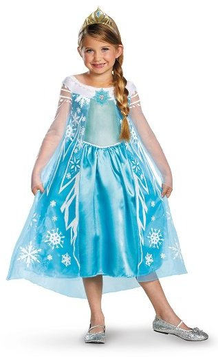 Princess Elsa Dress - www.kidslovedressup.com
