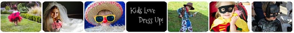 Kids Love Dress Up!