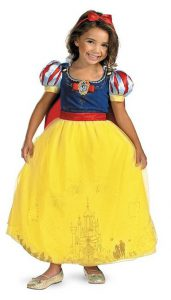Princess Snow White Gown - www.kidslovedressup.com