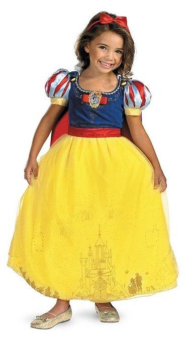 Princess Snow White Gown - www.kidslovedressup.com