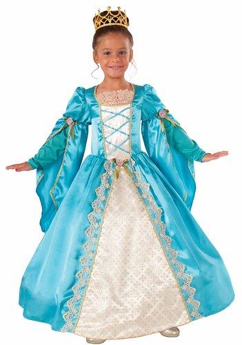 Blue Victorian Princess Costume