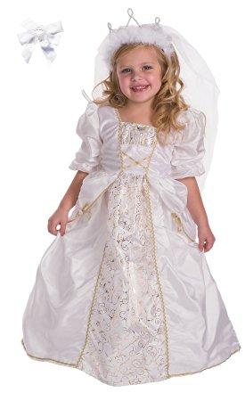 Kids Bride Princess Costume