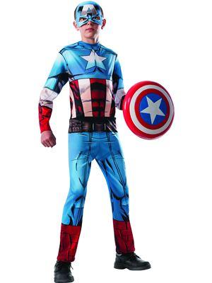 Captain America Dress Up Costume