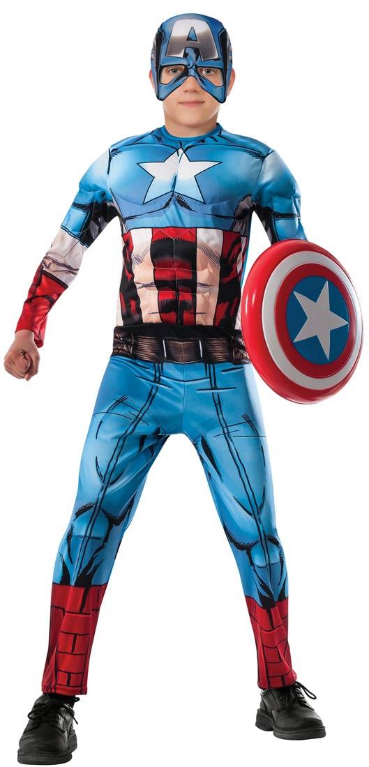 Superhero Costumes For Boys - Captain America!