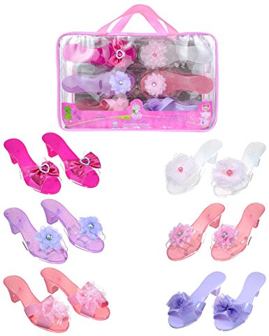 Princess Dress Up Shoes - www.kidslovedressup.com