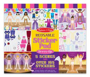 Melissa and Doug Dress Up Reusable Sticker Pad