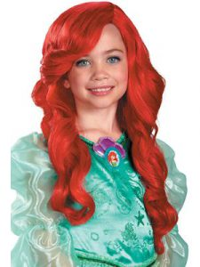 Princess Ariel Wig for Girls