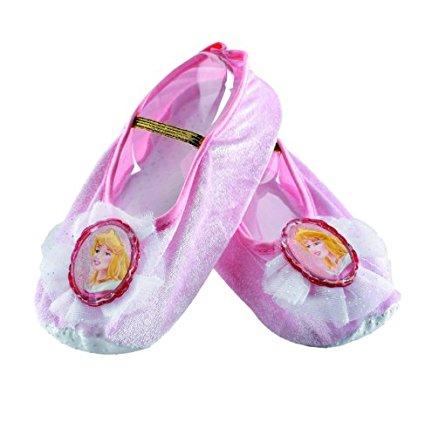 Princess Dress Up Ballet Slippers - www.kidslovedressup.com