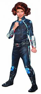 Black Widow Superhero Costume For Girls