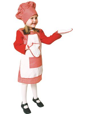 Chef's Costume for Girls