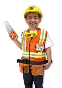 When I Grow Up, I Want To Be A Construction Worker! www.kidslovedressup.com