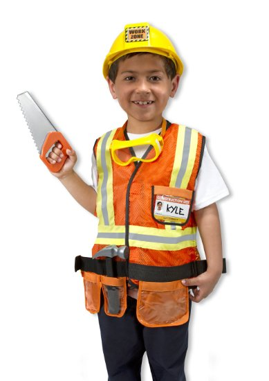 Construction Worker Costume for Boys
