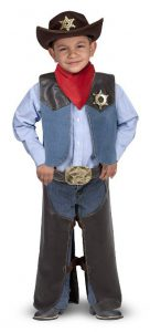 Cowboy Role Play Costume for Boys