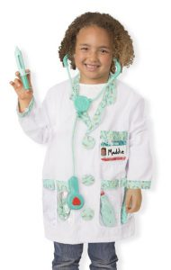 Melissa and Doug Doctor Role Play Costume Set: The Best Halloween Costumes for Girls for 2017 - see 10 of the most popular girls costumes for Halloween this year! Kids dress up, costumes kids, girls dress up costumes, Halloween costumes