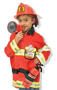 Melissa & Doug Fire Chief Role Play Costume Set Review - www.kidslovedressup.com