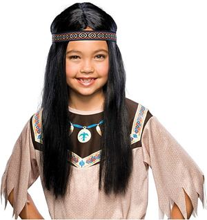 Indian Child Wig