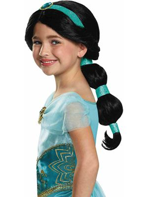 Princess Jasmine Wig for Girls