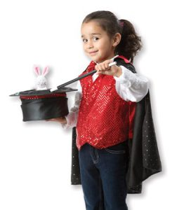 Magician Costume for Girl