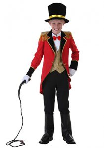 Ringmaster or Lion Tamer Costume For Boys