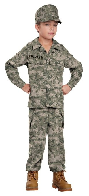 When I grow up, I want to be... a SOLDIER! www.kidslovedressup.com