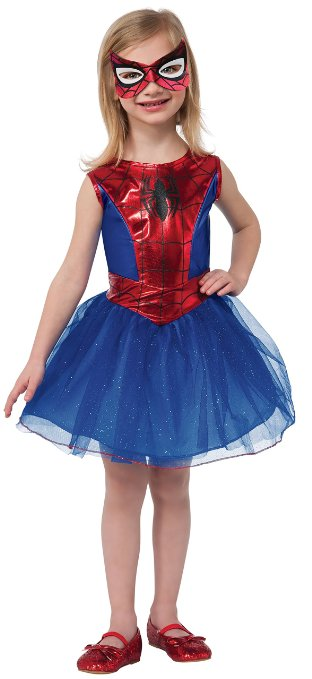 Spidergirl Costume - www.kidslovedressup.com