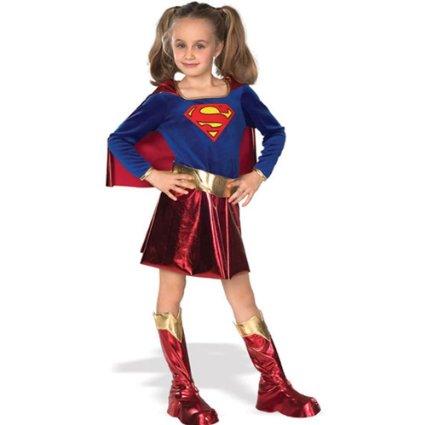 Superman Costume for Little Girl -- www.kidslovedressup.com