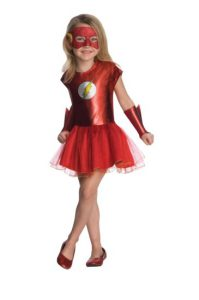 The Flash Costume For Girls