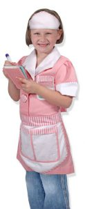 Girls Waitress Costume