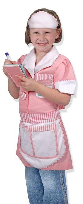 Girls Waitress Costume