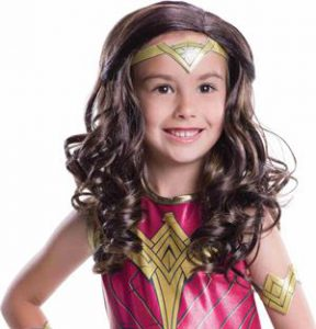 Wonder Woman Wig Girls