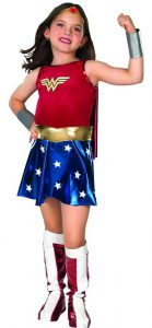 Wonder Woman Costume For Girls - www.kidslovedressup.com