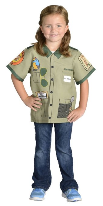 Girls Zoo-Keeper Costume