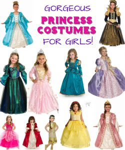 Superior Looking For The Perfect Generic Princess Costume For Your Girls? Check Out  These Beautiful NON