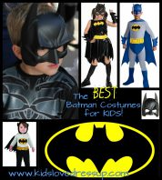 Looking for some great Batman costumes for kids? Here are some great choices for boys, girls (Batgirl), toddlers, and babies! Plus, Batman costume accessories! Check it out at www.kidslovedressup.com -- superhero dress up, superhero costumes