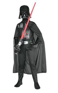 Darth Vader Costume - part of a review of the BEST Star Wars Dress Up for Boys at www.kidslovedressup.com