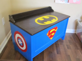 DIY Superhero Dress Up Storage