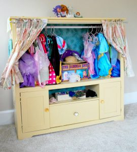 DIY Dress Up Unit