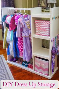 DIY Dress Up Storage Center