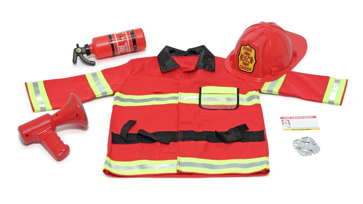Fire Chief Role Play Costume Set by Melissa & Doug