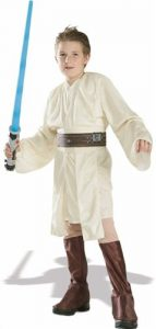 Obi Wan Kenobi costume - part of a review of the best Star Wars Costumes for Boys at www.kidslovedressup.com