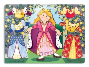 Melissa & Doug Princess Dress Up Chunky Puzzle Review - Kidslovedressup.com