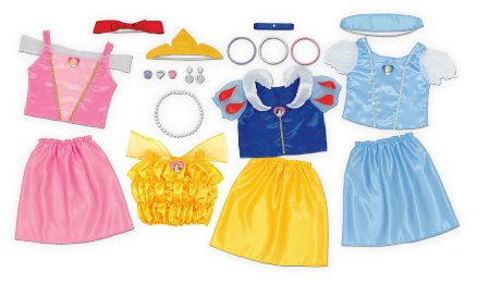 The Disney Princess Dress Up Trunk: Perfect for your princess lover? Or NOT? See my review at www.kidslovedressup.com