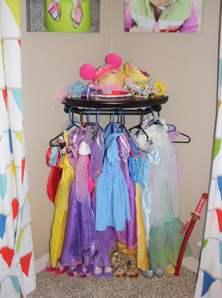 Dress Up Storage Corner