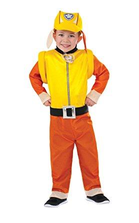 Rubble Paw Patrol Costume