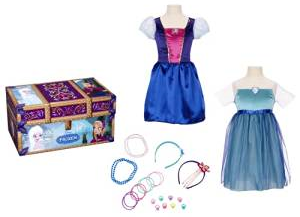 The Disney Frozen Travel Dress Up Trunk review on www.kidslovedressup.com