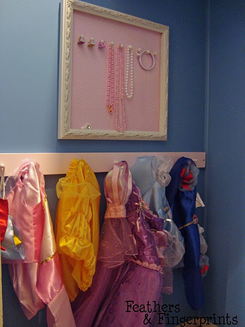 Dress Up Wall Storage Solution