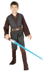 Anakin Skywalker Costume For Boys - Star Wars Dress Up For Boys - The Ultimate Costume Collection for the young Star Wars lover in your life! Check out the huge variety of kid sized Star Wars Costumes at www.kidslovedressup.com!